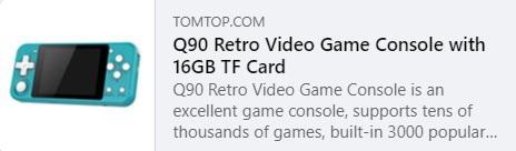 Q90 Retro Videospiel Preis: $ 26.99